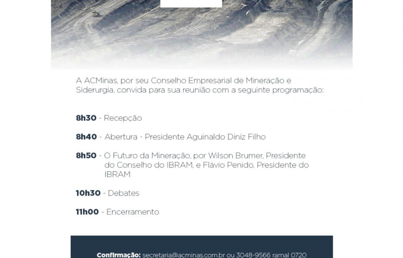 Inovação na mineração: Evento na ACMinas
