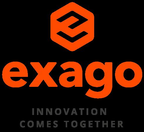 logo da exago - parceria com a inovatie