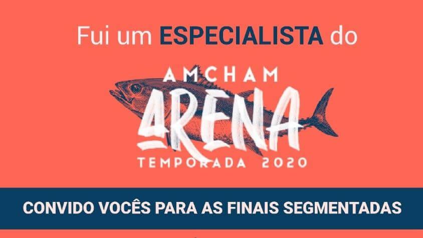 Avaliação de startups no Amcham Arena