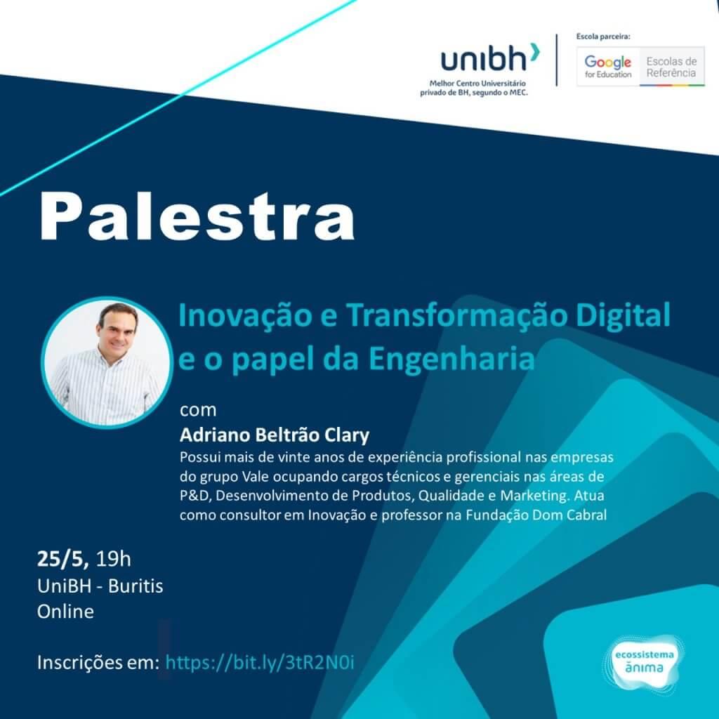 Palestra Inovação Adriano Clary